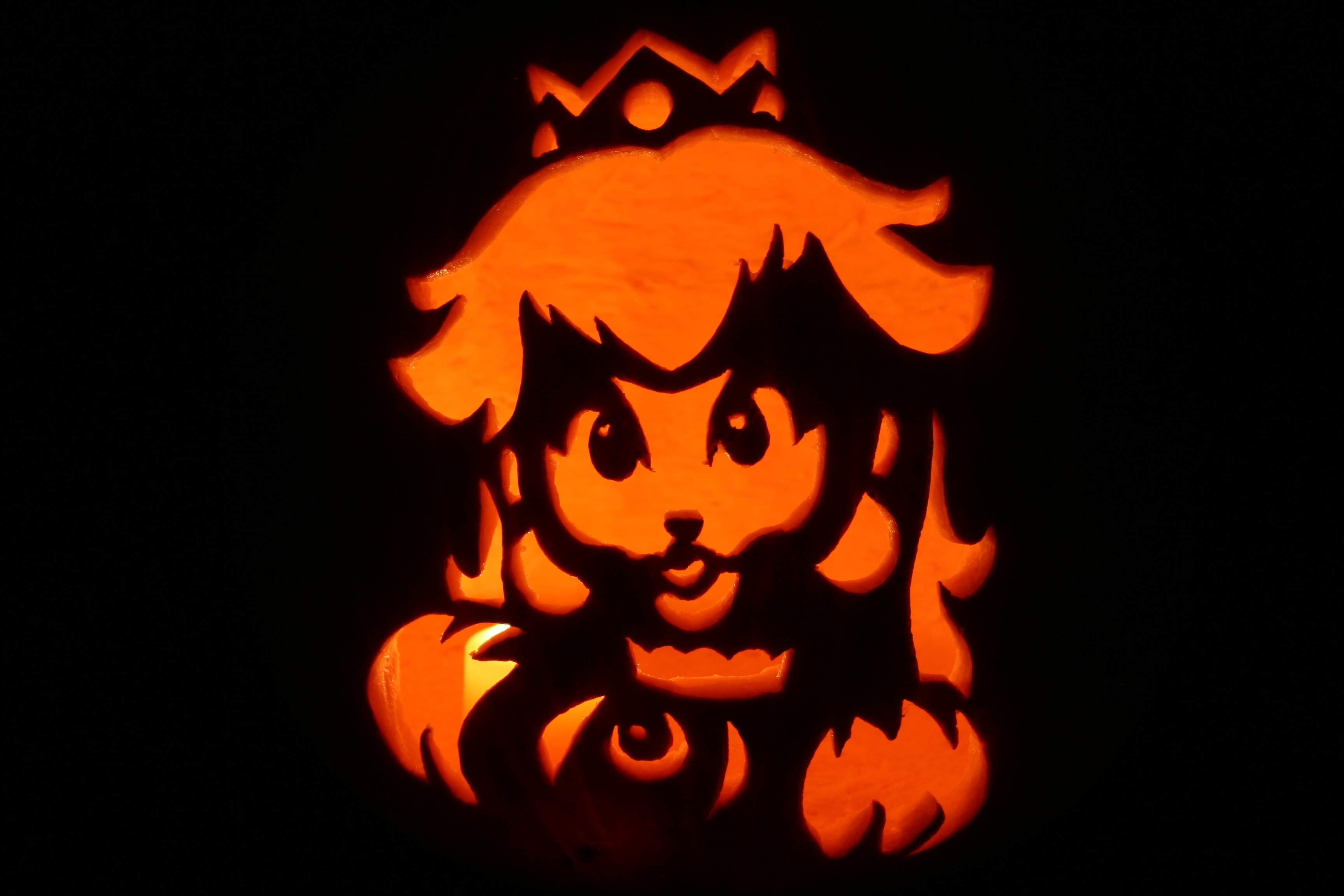 My Daughter's Amazing Pumpkin Carvings! | We Love The Stars Too Fondly