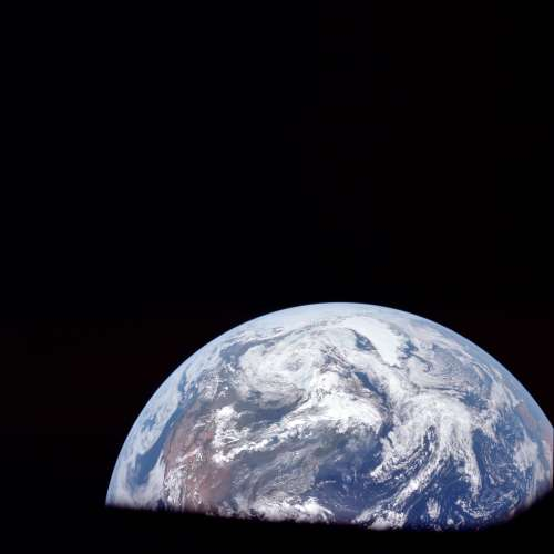 Earth As Seen From Apollo 11 07-16-1969 small