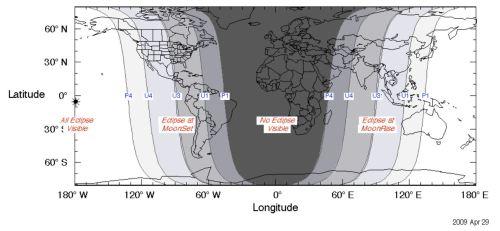 NASA GSFC Map