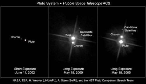 HST Moons of Pluto