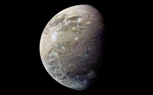 Voyager 1 Ganymede - JPL