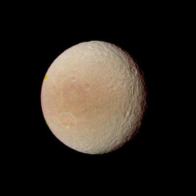 Voyager 2 Tethys